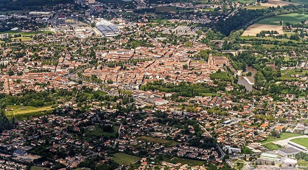 vue de lavaur - Wikipedia - Didier Descouens - CC BY SA 4.0