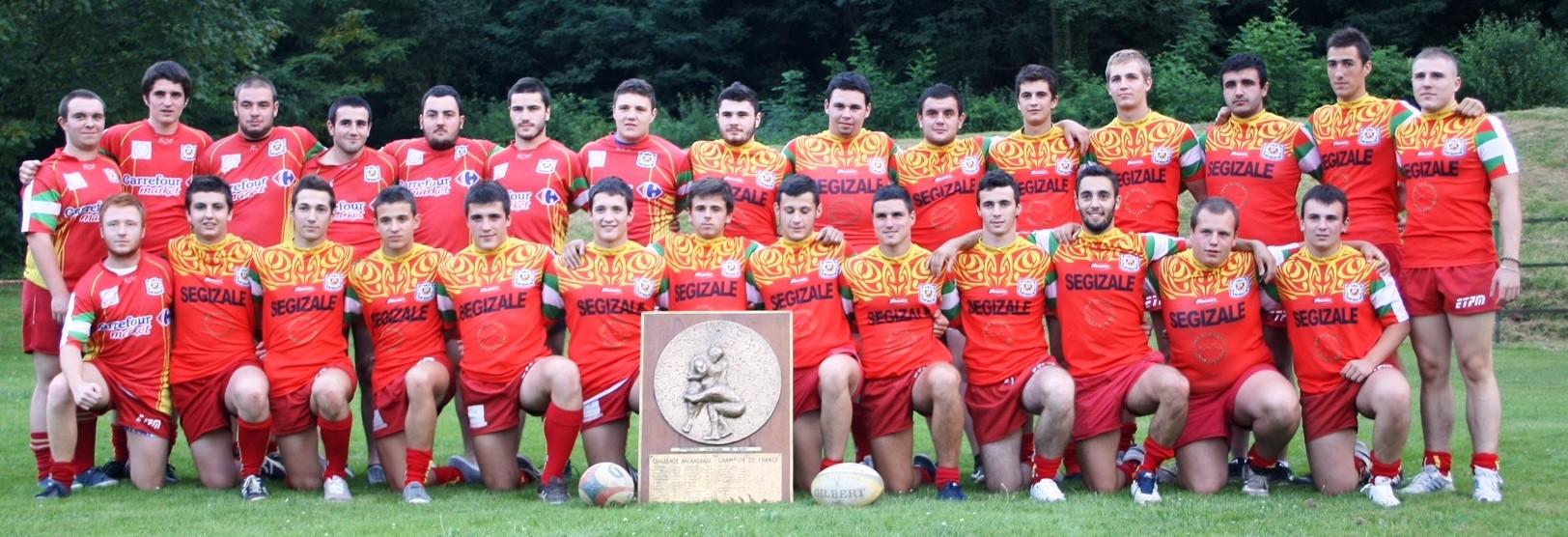 naffaroa champions de france balandrade 2014