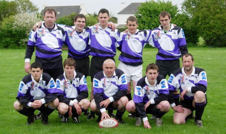 1ere équipe séniors jean luc crambert au centre tournoi 2005