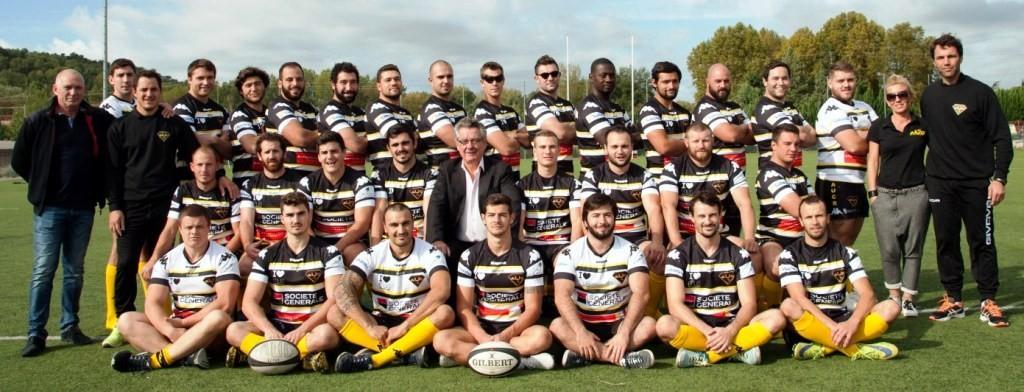 Equipe Seniors AUC Rugby