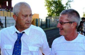 Patrice avec Président Saint-Paul