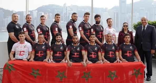 Sélection à 7 Maroc - Photo Paul Lecomte