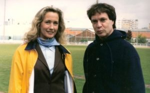 Richard avec Brigitte Fossey, célèbre dès l'âge de 5 ans avec Les Jeux interdits