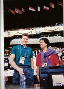 20. Alain Blondel, champion d'Europe de décathlon 94, ici aux Jeux de Séoul 1988 (6ème)