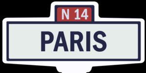 PARIS - Ancien panneau entrée d'agglomération