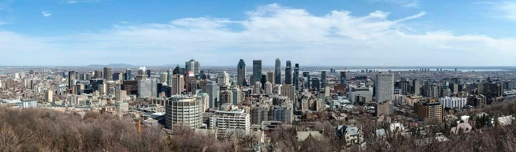 Wikipedia - Vue panoramique Montreal - DXR Travail Personnel - CC BY-SA 4.0