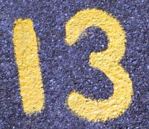 nombre 13 - Pixabay-437931_960_720 - Public Domain