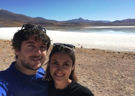 Maxime Claux - Avec Sofia au Chili
