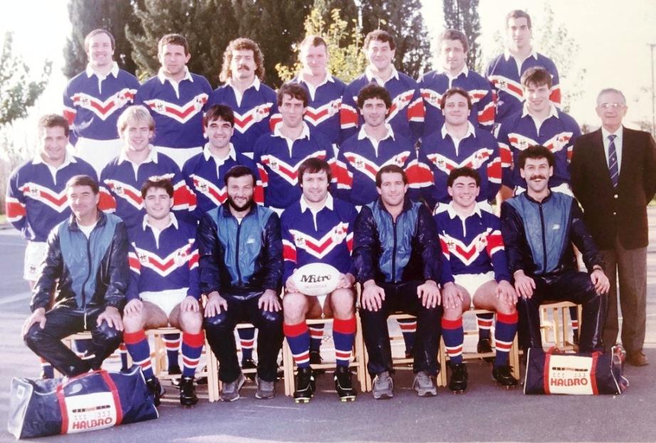 Entraîneur France A 1986