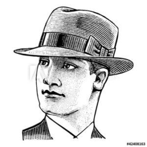 Homme au chapeau - adobe stock 500_F_42408163
