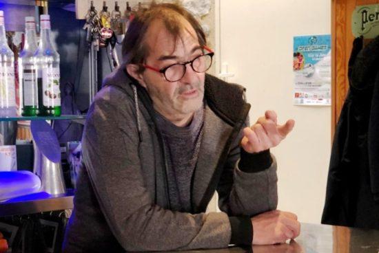 Thierry Vaysse / Patron du « Glacier » à Quillan