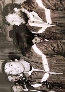 Tas Baitieri et Guy Vigouroux, entraîneurs du XIII de France de 85 à 87