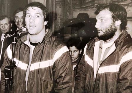 guy et Tas Baitieri entraineurs Equipe de France de 85 à 87