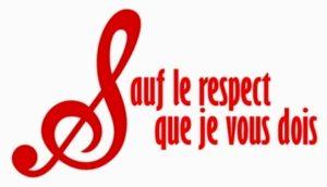 logo sauf le respect