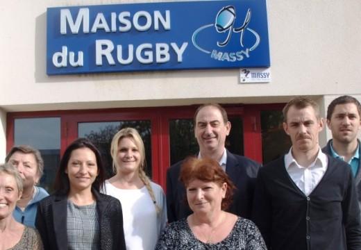 Un jour d'octobre à la Maison du Rugby de Massy
