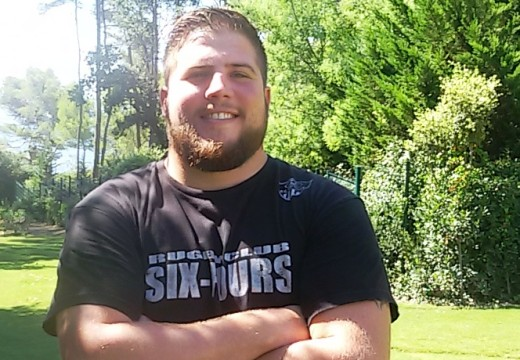 Florian Gihr / Première ligne au Rugby Club Six-Fournais