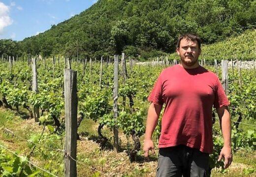 Clément Bärtschi / Du Rugby à la vigne du Bugey…